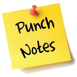 Punch Notes