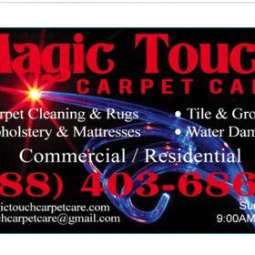 Magic Touch Carpet Care