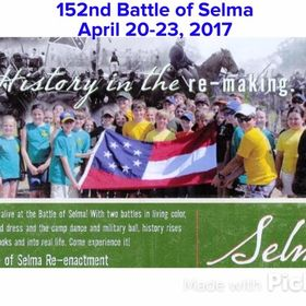 April 1865 Society for Battle of Selma