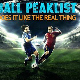 Football Peaklist