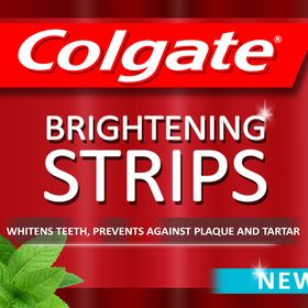 Colgate Optic Whitening Strips Colgatestrips On Pinterest