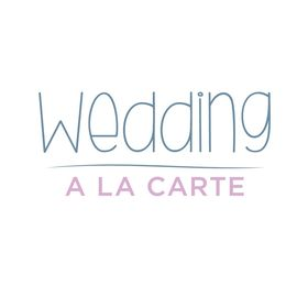 Wedding à la carte