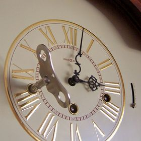 Key Wound Wall Clockantel Clocks