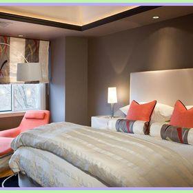 master bedroom warm colors