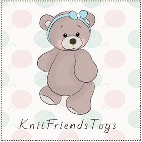 KnitFriendsToys   eco-friendly baby rattles and stuffed toys 🌱