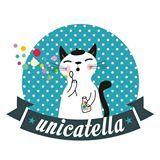Unicatella - My painted stone