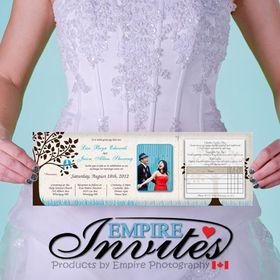 Empireinvites.ca - wedding invitations -
