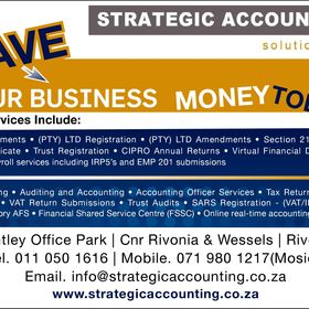Strategic Accounting Solutions