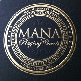 Mana Playing Cards