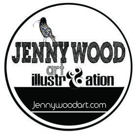 Jenny Wood art (jennywoodart) on Pinterest
