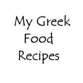 My Greek Food Recipes
