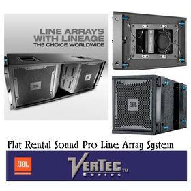 Professional Rental Sound system