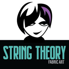 String Theory Fabric Art