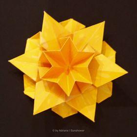Origami Sunshower