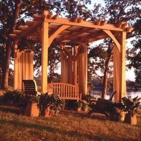 White Pergola Ideas