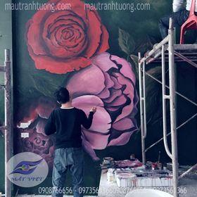 Mắt Việt Mural 3d