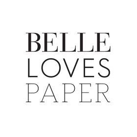 Belle Loves Paper