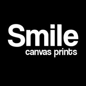 Smile canvas prints