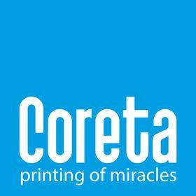 CORETA printing services