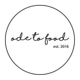 an ODE to food