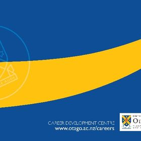 Career Development Centre http://www.otago.ac.nz/tools/disclaimer.html