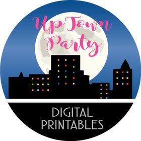 Uptown Party - Digital Printables