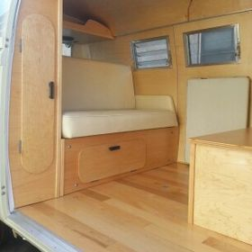 OC VW BUS Inc. Wood Interior Design