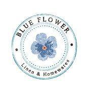 Blue Flower Linen