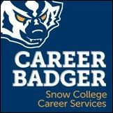 Snow College Career Badger