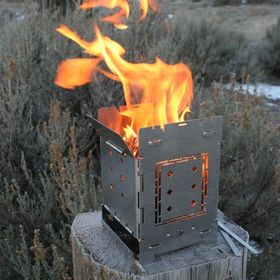 Folding Firebox Stove