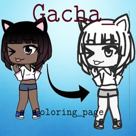 Gacha Life Coloring Pages And Gl Edits Gacha Coloring Page On
