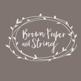 Brown Paper & String - Flowers