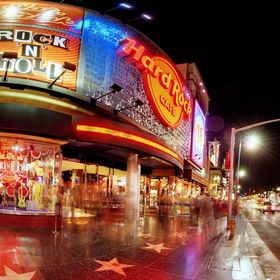 Hard Rock Cafe Hollywood Blvd.