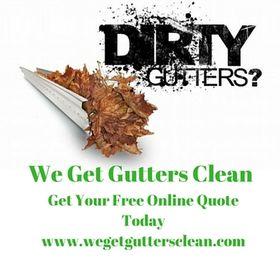 We Get Gutters Clean
