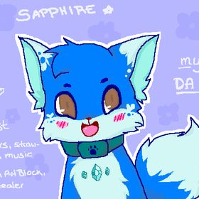 Sapphire Fox