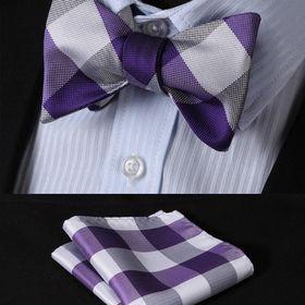USA Classic Mens Yellow Paisley Necktie JACQUARD WOVEN Silk Tie Sets Gift C-271