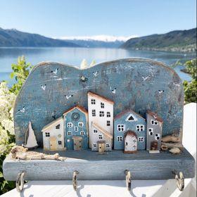 Fjord Driftwood Art