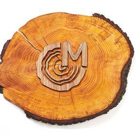 MapaWall (wooden world maps)
