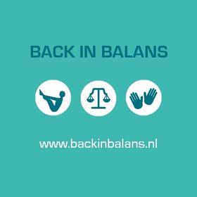 Back in Balans
