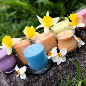 Sparkling Sweet Breeze Candles Crafts & More