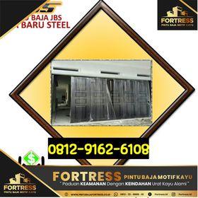 8 0812-9162-609 (FORTRESS), harga pintu garasi besi lipat ...