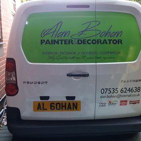 Alan Bohan Painting - Nottingham