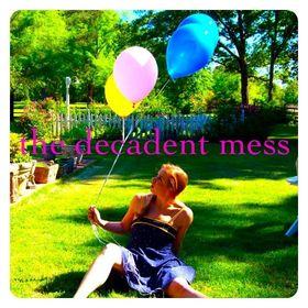 the decadent mess blog