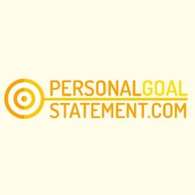 Personal Goal Statement Samples Goalstatementsa On