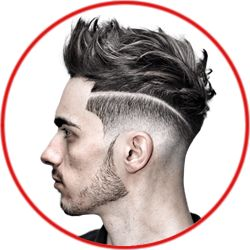 Black Men's Haircut