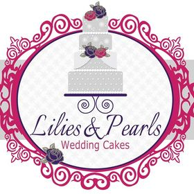 Lilies & Pearls Wedding Cakes