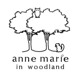 anne marie in woodland