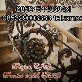 Jual Ornamen Besi Tempa. Centra Java
