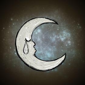 悲 moon