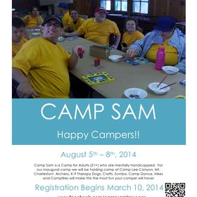 Camp Sam - Happy Campers